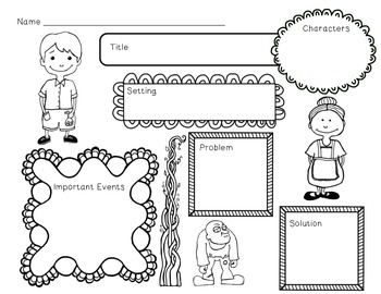 Jack and the Beanstalk Unit~ Includes Graphic Organizers & Much More!
