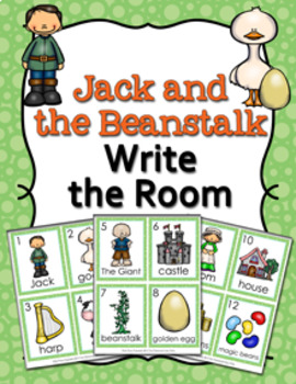 Jack and the Beanstalk Write the Room Activity