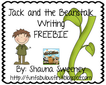 Jack and the Beanstalk Writing Pages