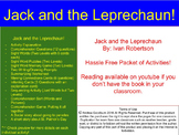 Jack and the Leprechaun Book Packet, Centers, St. Patrick's Day