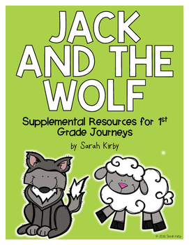 Jack and the Wolf 1st Grade Journeys Supplemental Resources