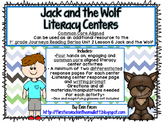 Jack and the Wolf Common Core Literacy Centers- 1st Grade