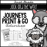 Jack and the Wolf Journeys First Grade Print and Go Activities