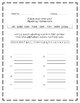 Jack and the Wolf, Journeys® First Grade, Unit Two Spelling Homework