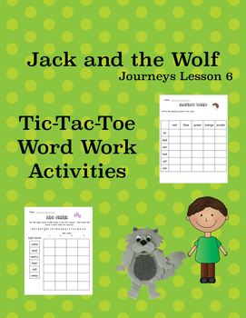 Jack and the Wolf Journeys Lesson 6