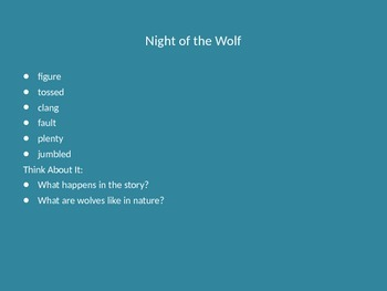 Jack and the Wolf- Journeys Unit 2