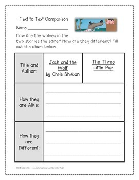 Jack and the Wolf Supplemental Activities 1st Grade Journeys Unit 2, Lesson 6