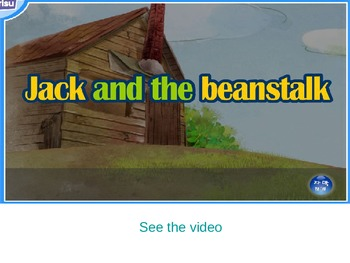 Jack and the beanstalk storybook