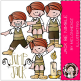 Jack be Nimble clip art - COMBO PACK- by Melonheadz