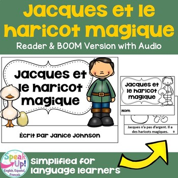 Jack et le Haricot Magique French Jack & the Beanstalk Reader