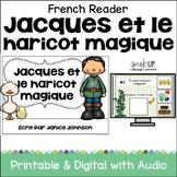 Jacques et le Haricot Magique French Jack & the Beanstalk Reader