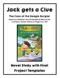 Jack Gets A Clue: The Case of the Beagle Burglar Novel Study