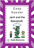 Jack in the Beanstalk Easy Reader Guided Reading Kit Fairy Tales Emergent Reader