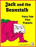 Fairy Tale: Jack & the Beanstalk  PUPPET FACES  COLOR  Story tell  Sequence ACT