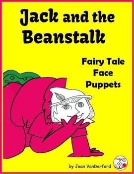 Fairy Tale: Jack & the Beanstalk| PUPPET FACES |COLOR| Sto