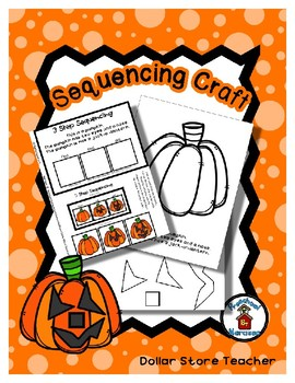 Jack o'Lantern - All Crooked Smiles - Sequencing Reader Mat & Craft Page