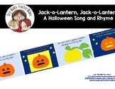 FREE Jack-o-Lantern, Jack-o-Lantern Song and Book