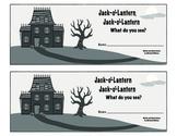 Jack-o-Lantern, Jack-o-Lantern What Do You See? Booklet