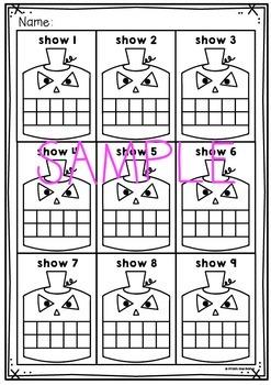 Jack o Lantern Number Activity Cards - Ten and Twenty Frames
