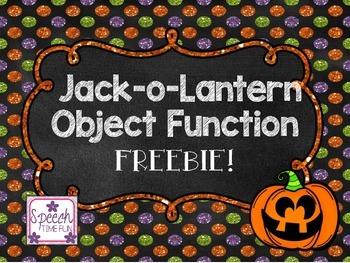 Jack-o-Lantern Object Function