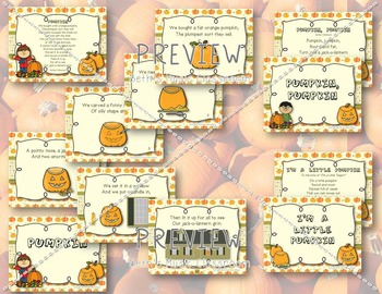 Jack-o-Lantern Jingles - 8 Halloween & Autumn Poems