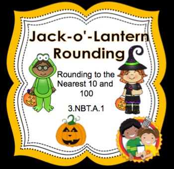 Jack-o-Lantern Rounding - Find the Path Puzzles