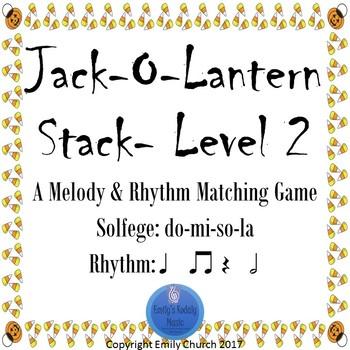 Jack-o-Lantern Stack Level 2