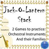 Jack-o-Lantern Stack Orchestral Instruments