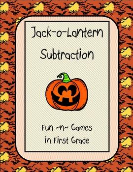 Jack-o-Lantern Subtraction