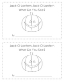Jack-o-Lantern What Do You See Printable Book