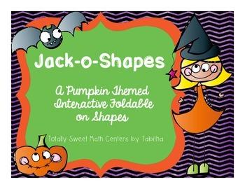 Jack-o-Shapes Interactive Notebook Shutter Fold