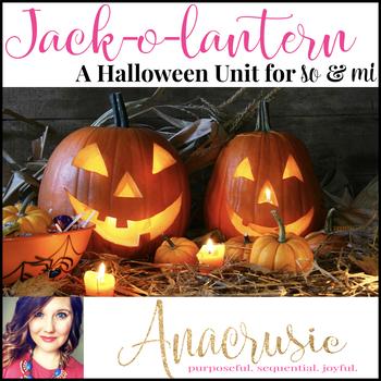 Jack-o-lantern - A Halloween Song & Games to practice so & mi