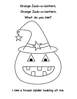 Jack-o-lantern, Jack-o-lantern What Do You See?