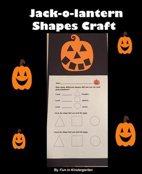 Jack-o-lantern Shape Craft