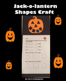 Jack-o-lantern Shape Craft