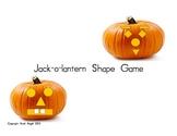 Jack-o-lantern Shape Game