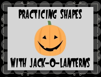 Halloween Math: Jack-o-lantern Shapes