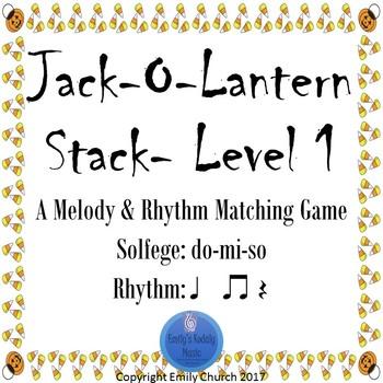 Jack-o-lantern Stack LEVEL 1