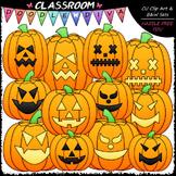 Jack-o-lanterns Clip Art - Halloween Clip Art