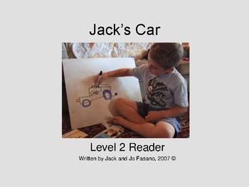 Jack's Car Ebook Reader Level 2