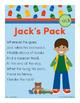 Jack's Pack - ack Word Family Poem of the Week