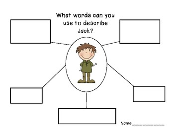 Jack & the Beanstalk Mini Unit-Literacy & Math Activities