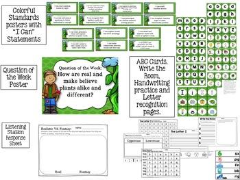 Jack & the Beanstalk Kindergarten Unit 2 Week 6