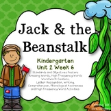 Jack & the Beanstalk Kindergarten Reading Street Unit 2 Week 6
