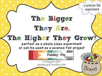 SCIENCE: Jack & the Beanstalk Science Fair Experiment (Plants)