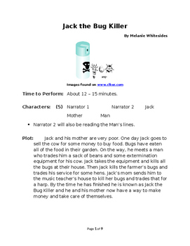 Jack the Bug Killer - Small Group TWISTED Reader's Theater