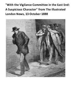 Jack the Ripper Handout