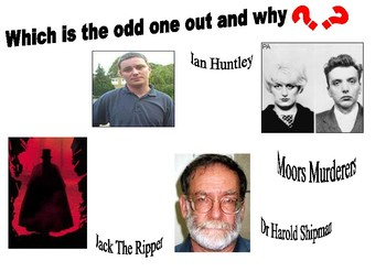 Jack the Ripper Odd One Out Activity