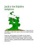 Jack y los frijoles magicos Reading and Activity
