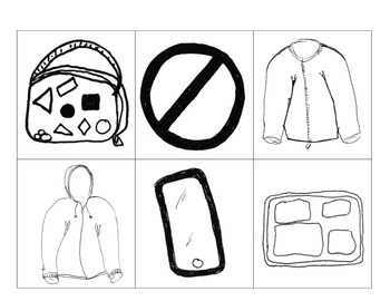 Jackets, iPhone, Lunch Tray and Lunch Box in PDF